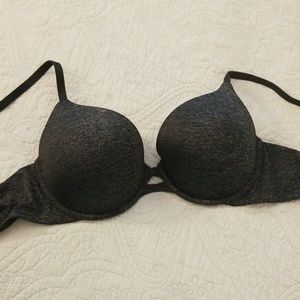 Victoria's Secret perfect coverage gray bra 38C